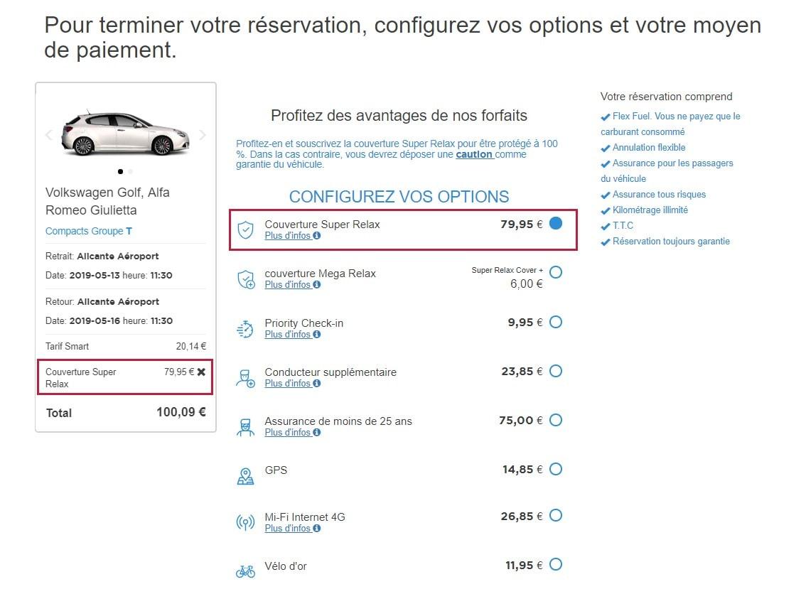 location de voitures sans franchise chez interrent couverture tous risques interrent